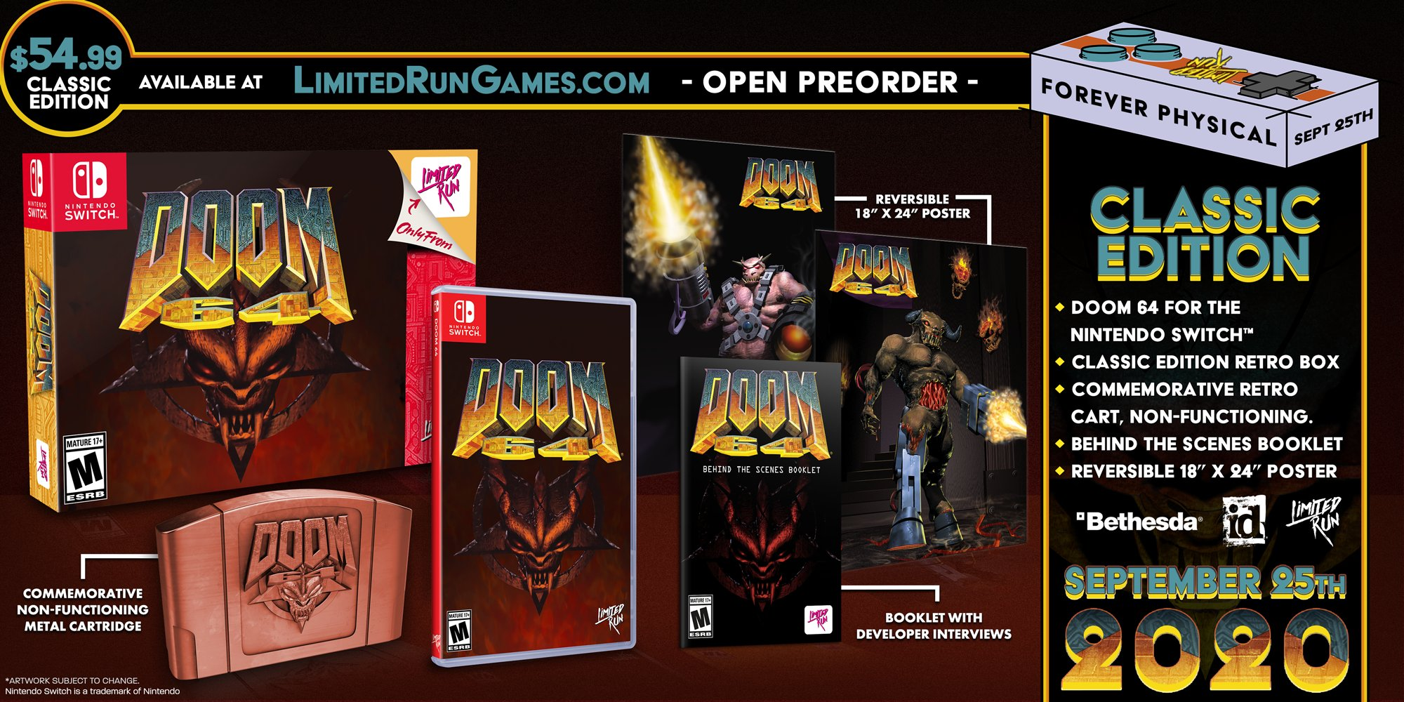 'DOOM 64' is Getting Physical for Nintendo Switch Release