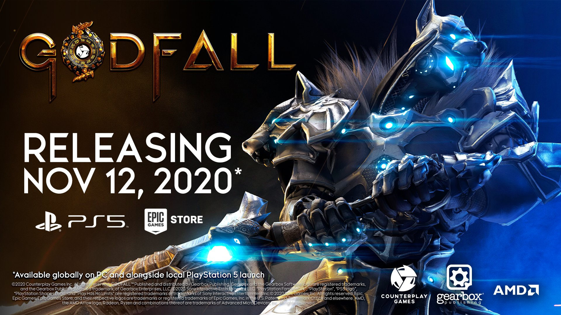 Godfall Launches November 12 Gematsu