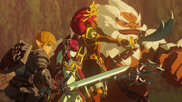 Hyrule Warriors Age Of Calamity Champions Unite Trailer 14 Minutes Of Gameplay Gematsu