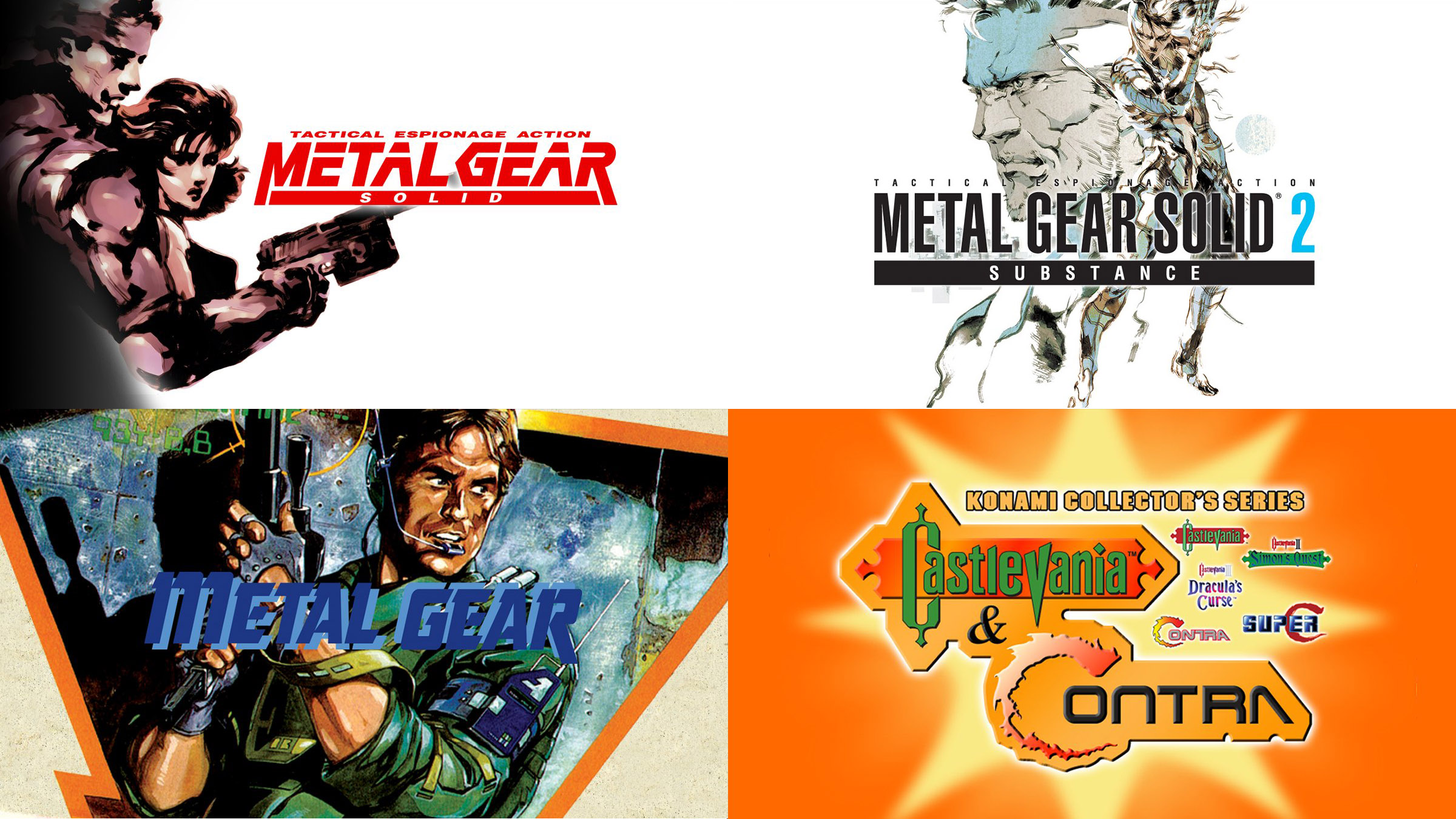Three classic Metal Gear games are now available on GOG