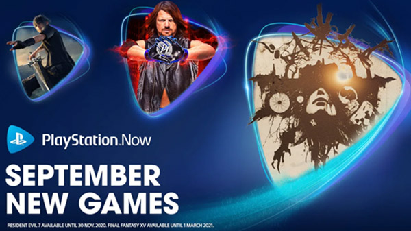 PlayStation Now adds Resident Evil 7: biohazard, Final Fantasy XV, WWE 2K19, and Observation