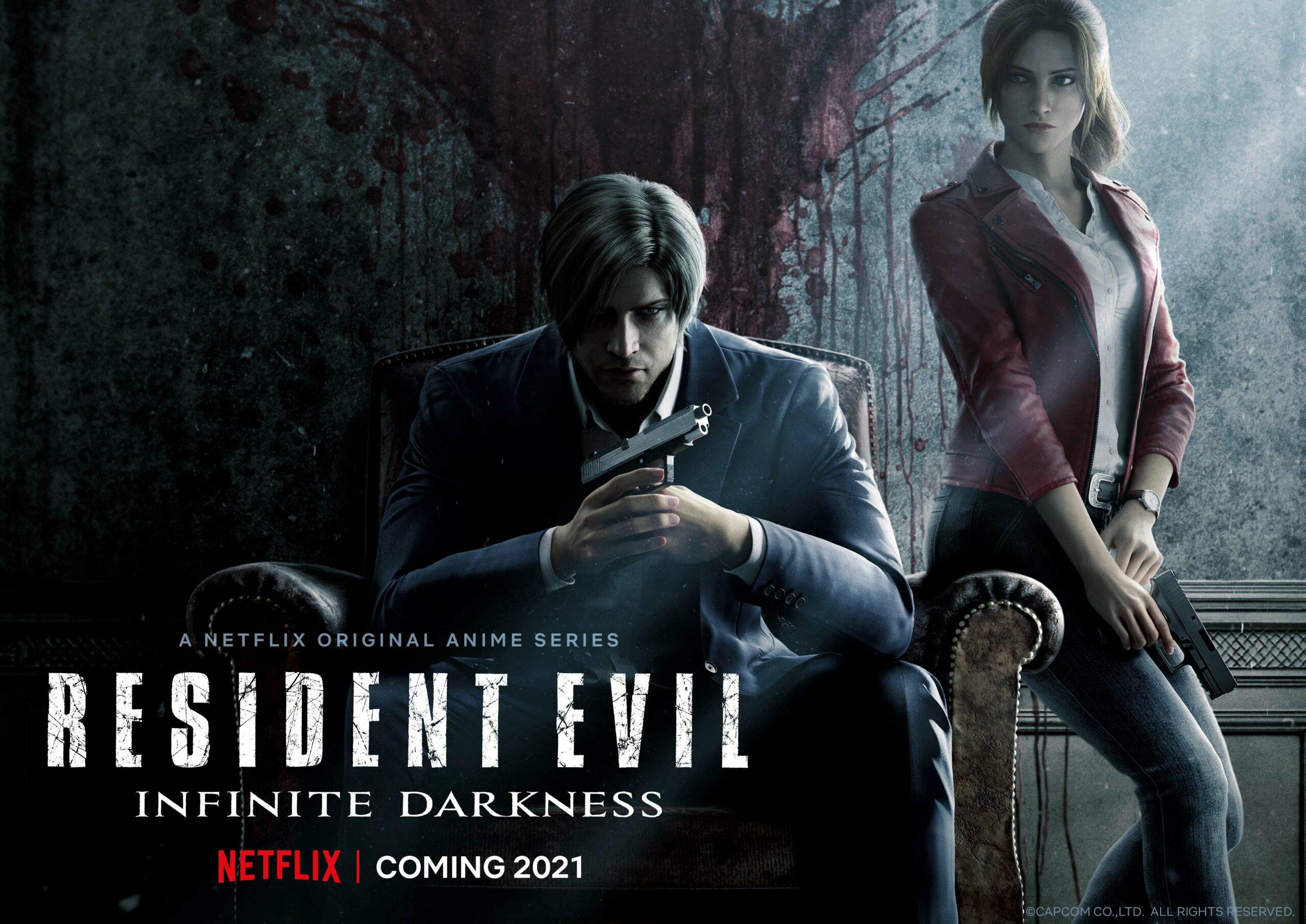 Resident Evil Infinite Darkness Cg Series Coming To Netflix In 2021 Gematsu