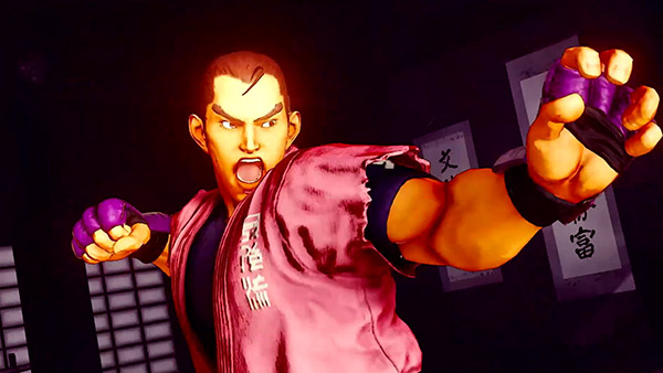 Street Fighter V: Champion Edition DLC character Dan Hibiki