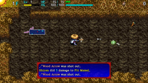 Shiren The Wanderer: The Tower of Fortune and the Dice of Fate