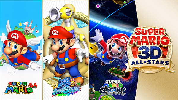 'Super Mario 3D All-Stars' comes to Nintendo Switch on September 18th