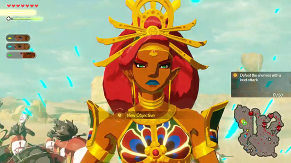 Hyrule Warriors Age Of Calamity 22 Minutes Of Gameplay Including Urbosa And Zelda Gematsu