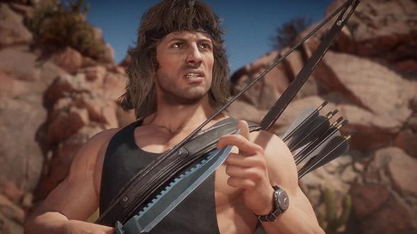 Mortal Kombat 11 DLC character Rambo