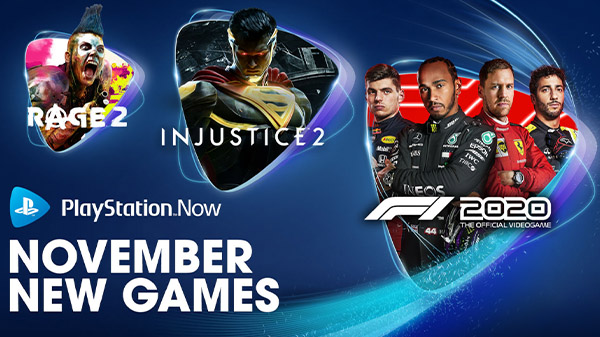 PlayStation Now adds F1 2020, Injustice 2, RAGE 2, Kingdom Come: Deliverance, My Time at Portia, and Warhammer: Vermintide 2