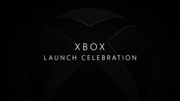 Xbox Series X and Xbox Series S launch live stream set for November 10
