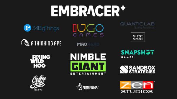 Embracer Group acquires 34BigThings, Flying Wild Hog, Nimble Giant Entertainment, Purple Lamp Studios, Snapshot Games, Zen Studios, and more