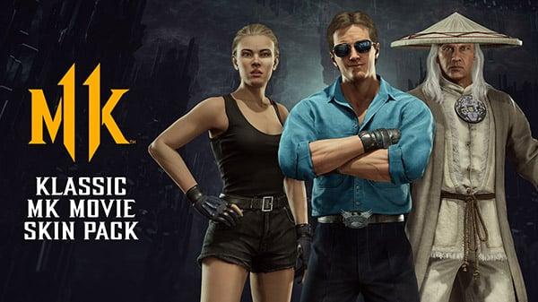 Mortal Kombat 11 DLC 'Klassic MK Movie Skin Pack'