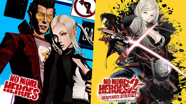 No More Heroes and No More Heroes 2: Desperate Struggle