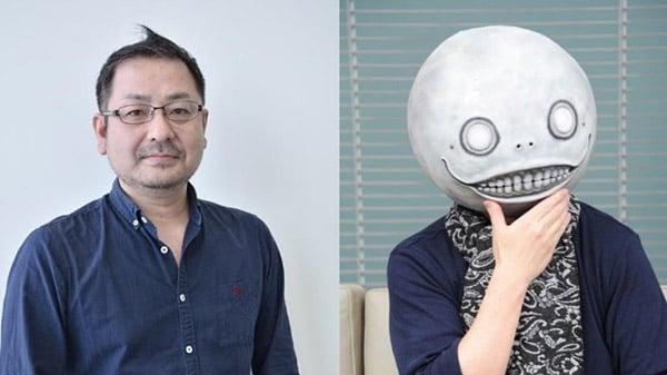 Yoko Taro and Yosuke Saito