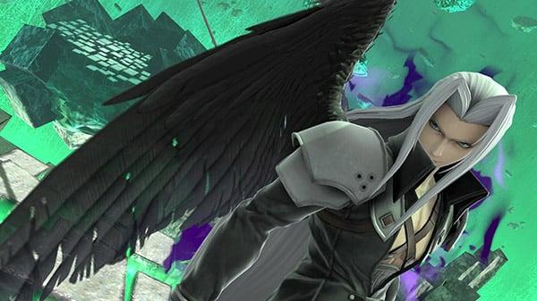 Super Smash Bros. Ultimate DLC character Sephiroth
