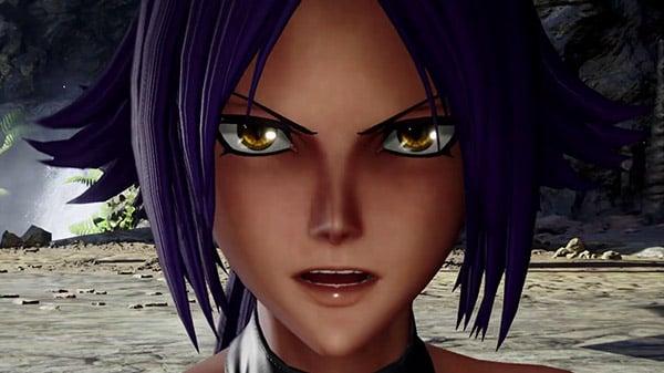 Jump Force DLC character Yoruichi Shihouin