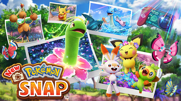 New Pokémon Snap trailer reveals April launch
