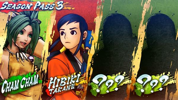 Samurai Shodown DLC characters Cham Cham and Hibiki Takane