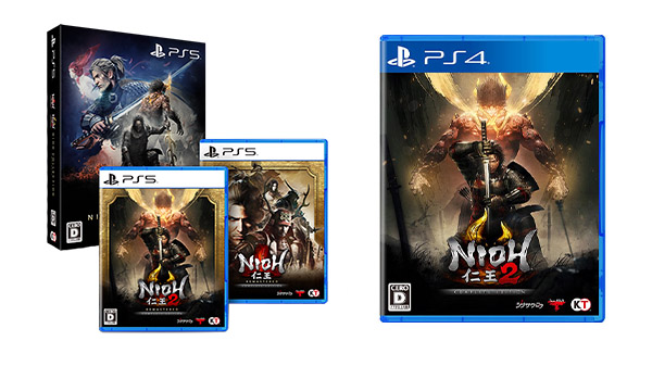 This Week's Japanese Game Releases: Nioh Collection, Nioh 2 - Complete Edition, more