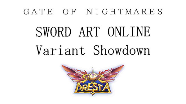 Japanese trademarks - Gate of Nightmares from Square Enix, Sword Art Online: Variant Showdown from Kadokawa, and Sol Cresta from Hamster