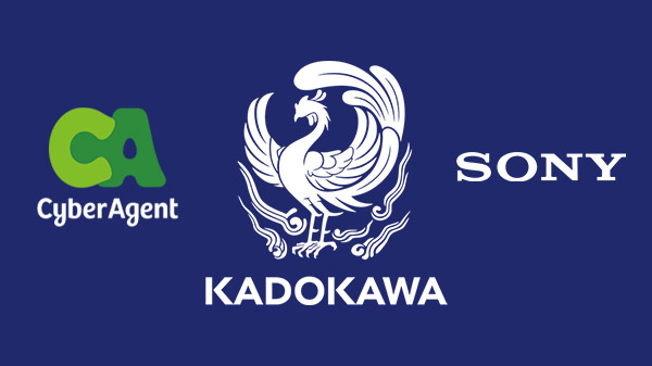 Kadokawa Corporation forms capital alliance with CyberAgent and Sony to strengthen game and animation businesses