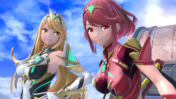 Super Smash Bros. Ultimate DLC character Pyra / Mythra from Xenoblade Chronicles 2 announced
