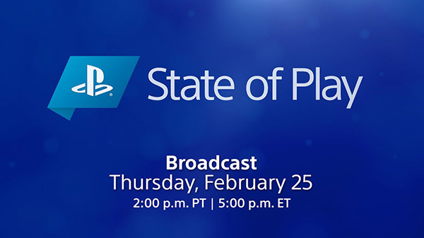 State of Play: February 25, 2021 live stream