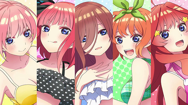 The Quintessential Quintuplets ∬: Summer Memories Also Come in Five
