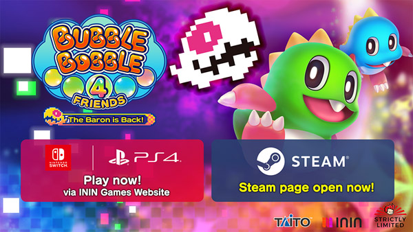 Bubble Bobble 4 Friends: The Baron is Back