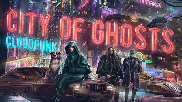 Cloudpunk DLC 'City of Ghosts'