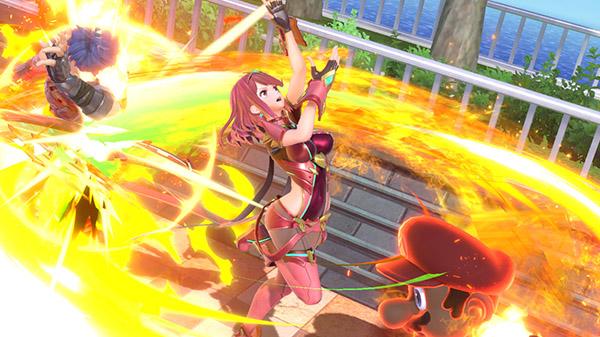 Super Smash Bros. Ultimate DLC character Pyra / Mythra