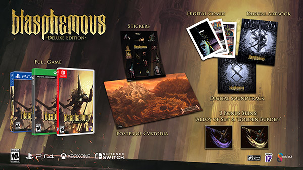 Blasphemous physical Deluxe Edition