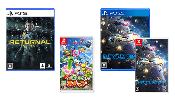 This Week's Japanese Game Releases: Returnal, New Pokemon Snap, R-Type Final 2, more