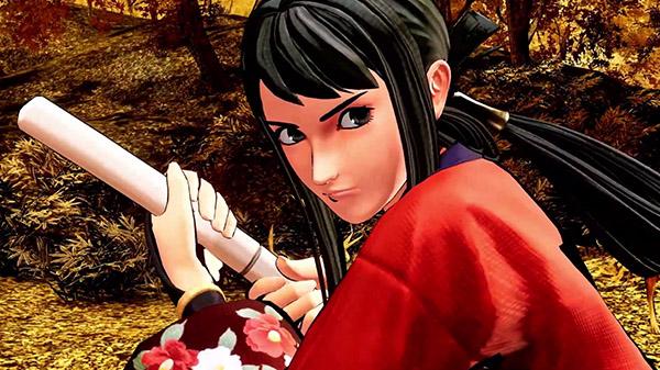 Samurai Shodown DLC character Hibiki Takane