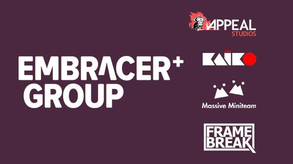 Embracer Group acquires Appeal Studios, KAIKO, Massive Miniteam, and FRAME BREAK, establishes Gate21