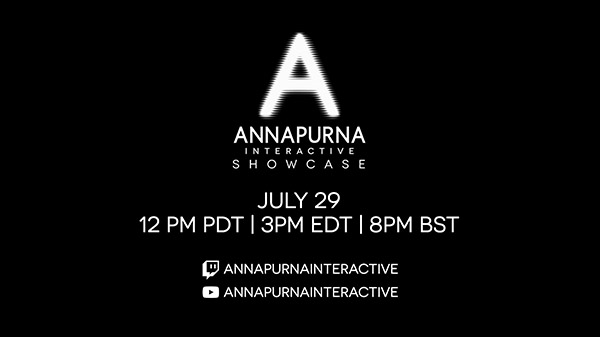 Annapurna Interactive Showcase 2021