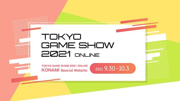 Konami announces TGS 2021 Online lineup, schedule